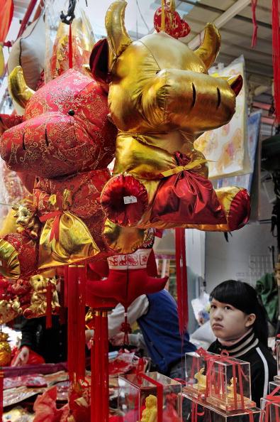 75 2401 Xianggang3 - Китай готовится к Новому году