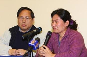 Жена Гао Чжишена привлекает внимание мировой общественности