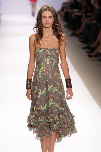 Показ весенней коллекции Nanette Lepore в рамках Нью-Йоркской Недели моды