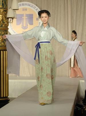 Международный конкурс костюма династии Хань, организованный телевидением NTD