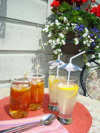 Охладитесь лимонадом и чаем со льдом