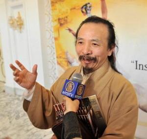 Художник, изображающий Будд: DPA ведет людей «в мир, о котором мечтает каждый»