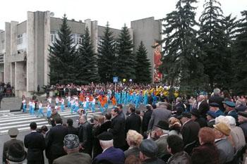 Праздник Победы в городе Пятигорске