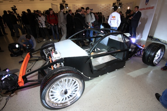 Российский суперкар Marussia