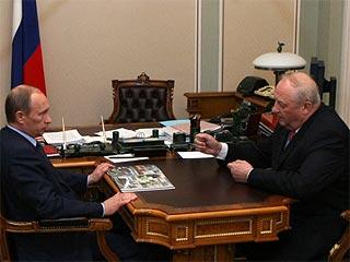115 1143753 - Россель ввел Путина в заблуждение, рассказав, что на Урале нет безработицы и экономического спада