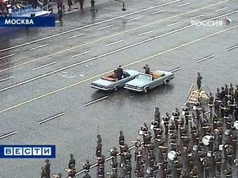 Москва: генеральная репетиция Парада Победы