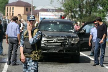 На начальника экспертно-криминалистического центра МВД Ингушетии совершено покушение