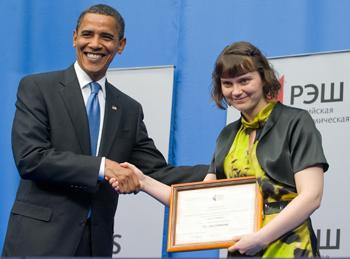 90 07 07 2009 5731 - Б.Обама: Россия должна играть роль великой державы в мире
