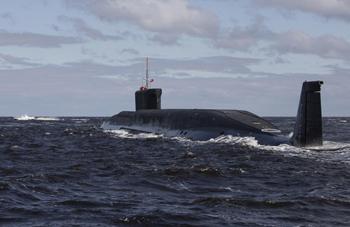 Россия произвела испытания ракеты «Синева»