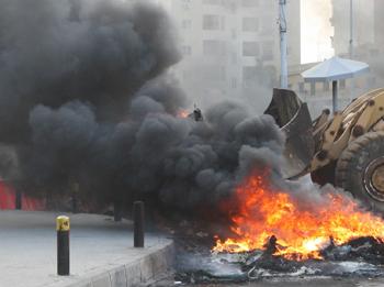 На штрафной стоянке в Москве сгорели два десятка автомашин