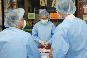92 16 04 09 ATIP 350 - Смерть от атипичной пневмонии китаянки в поезде Благовещенск-Москва