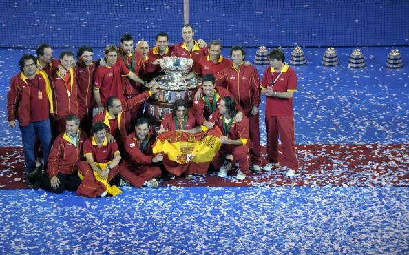 102 vrs200811241 - Фотообзор: Сборная Испании стала обладателем Кубка Дэвиса