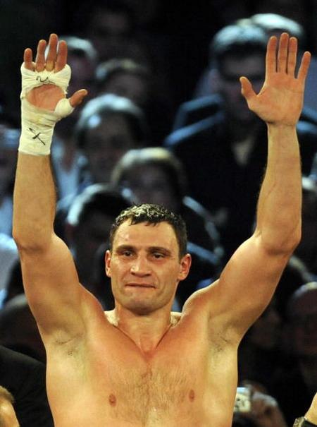 Фотообзор: Кличко выиграл поединок с Гомесом