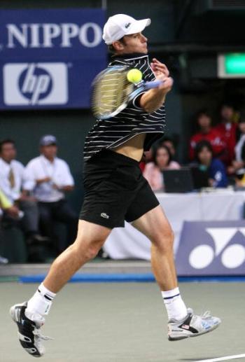 115 vrs200810045 - Фотообзор: Теннис. Полуфиналы турниров в Токио