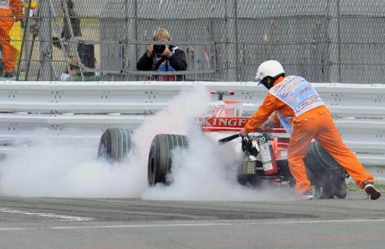 Фотообзор: Формула 1. Лидеры в тени