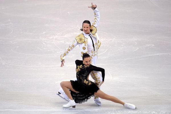 Фотообзор: Российские фигуристы - чемпионы мира по фигурному катанию
