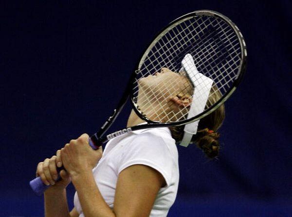 """Фотообзор: Теннис. Четвертьфиналы """"Кубка Кремля"""". Женщины"""