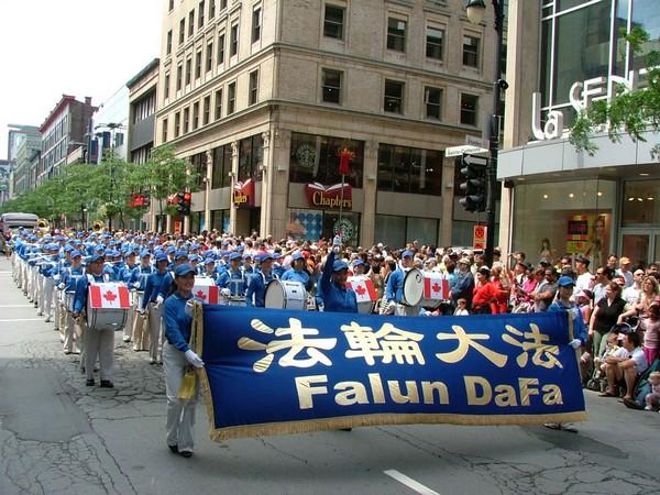0407 Kanada3 - Фотообзор: Последователи Фалуньгун Канады приняли участие в главном государственном празднике страны