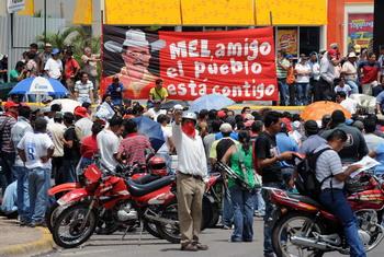 102 88763878 - Свергнутый президент Гондураса намерен в ближайшие дни вернуться в страну