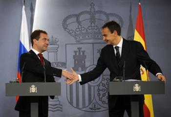 Дмитрий Медведев посетил Испанию