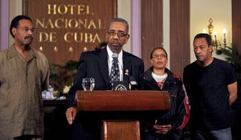 Важная для США и Кубы встреча американцев с Фиделем Кастро состоялась