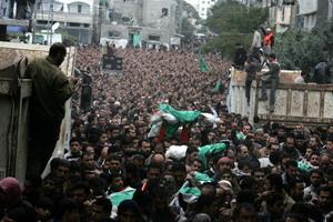 """126 hamas2 84157640 - """"Литой свинец"""" обрушился на дома активистов ХАМАС"""