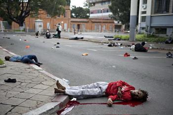 126 madagas 84680877 - На Мадагаскаре к демонстрантам применили оружие