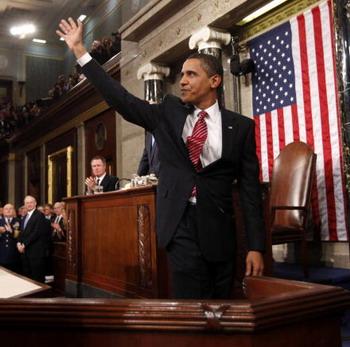 126 obama 85071682 - Обама обнадежил американцев на выступлении в Конгрессе