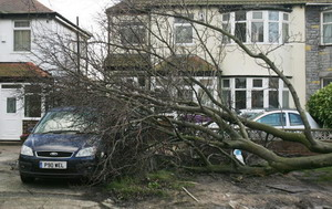 Сильнейший ураган обрушился на Европу