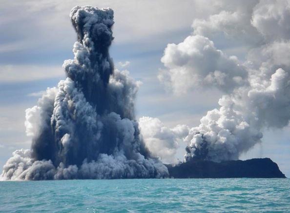 150 903190710121462 - Проснулся подводный вулкан в южной части Тихого океана острова Тонга