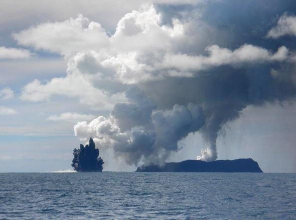 150 903190710141462 - Проснулся подводный вулкан в южной части Тихого океана острова Тонга