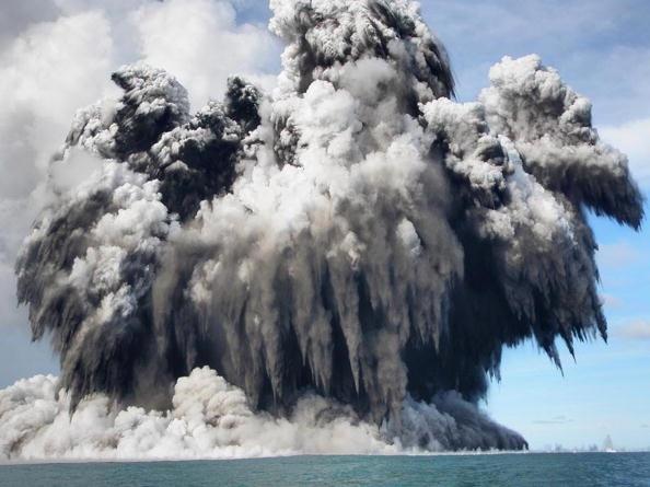 150 903190710151462 - Проснулся подводный вулкан в южной части Тихого океана острова Тонга