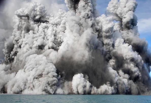 150 903190710171462 - Проснулся подводный вулкан в южной части Тихого океана острова Тонга