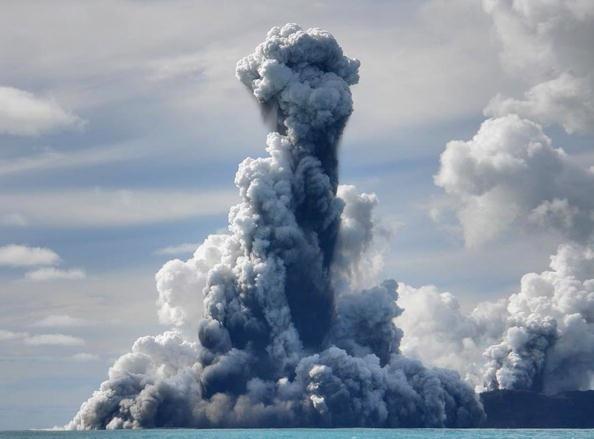 150 903190710221462 - Проснулся подводный вулкан в южной части Тихого океана острова Тонга