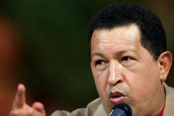 156 10 08 09 Chavez - Чавес обвинил Колумбию в вооруженном вторжении