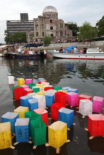 rrbb 0112 - Фотообзор: В Японии вспоминают жертв атомной бомбардировки Хиросимы