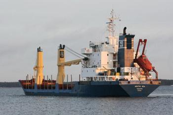 Пропавший Arctic Sea нашли окончательно. Экипаж не находился под вооруженным контролем