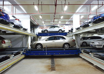 В Москве появятся многоуровневые немецкие парковки