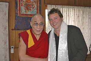 Далай-лама ответил на вопросы знатока Тибета Андреаса  Хилмера