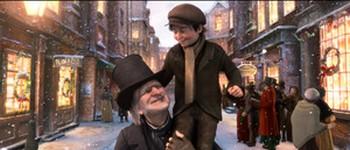 «Рождественская история» - экранизация романа Диккенса с Джимом Керри в 3-D
