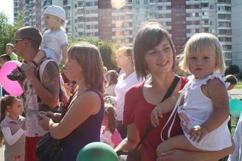 В России зафиксирован  прирост населения