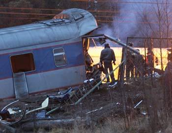 """Версия теракта подтвердилась: причиной крушения """"Невского экспресса"""" стал взрыв"""