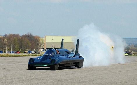 Паровой автомобиль установил мировой рекорд скорости