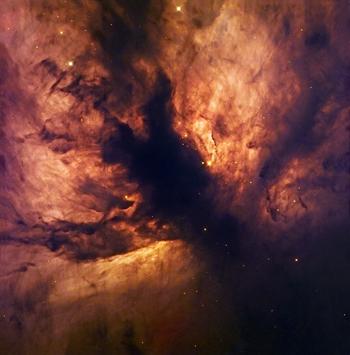Астрономы сфотографировали космический пожар