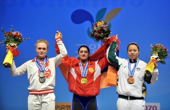 Оксана Сливенко завоевала серебро чемпионата мира по тяжелой атлетике