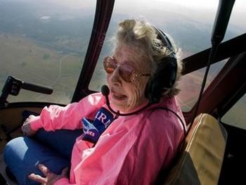 В Калифорнии появилась 99-летняя летчица
