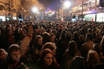 Чехия и Словакия празднуют 20-ю годовщину «бархатной революции»