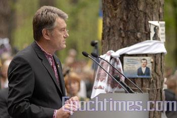 Ющенко назвал виновников Второй мировой войны