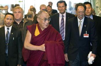 Духовный лидер Тибета Далай-лама прибыл с визитом на Тайвань