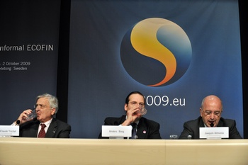 Совещание министров финансов европейских стран  проходит в Швеции